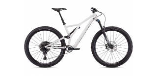 "Specialized Stumpjumper Men FSR Comp Alloy 29"" 2019-12-Speed Gloss White / Tarma"